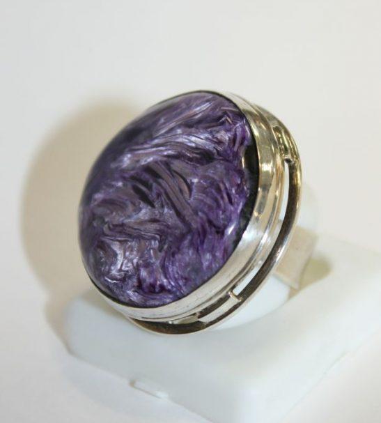 Перстень Чароит