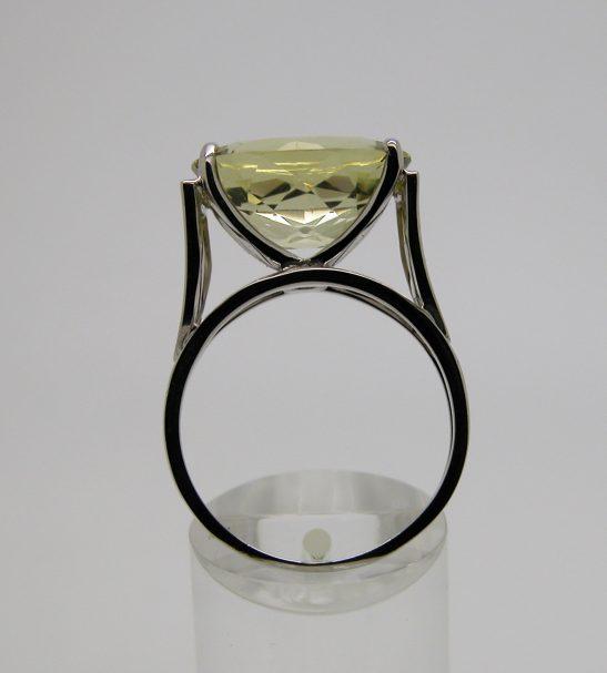 Кольцо золотое с Цитрином.