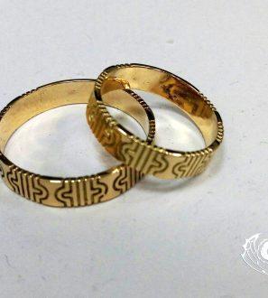 """Обручальные кольца """"Орнамент"""""""
