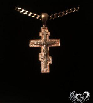Мужской нательный православный крест