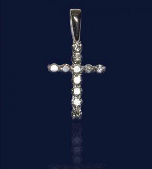 Крест бриллиантами