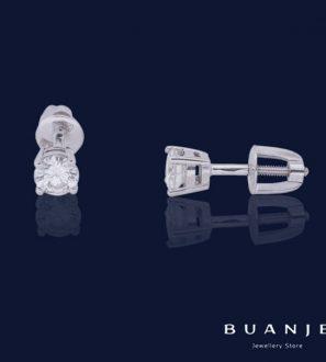 Пусеты с бриллиантами