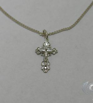 Крестик с цепочкой