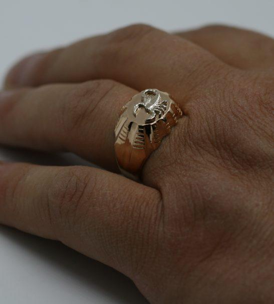 "Мужское кольцо ""Скорпион"""