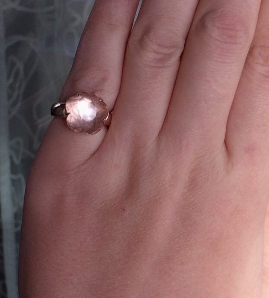 """Кольцо """"Розовый Цветок"""""""