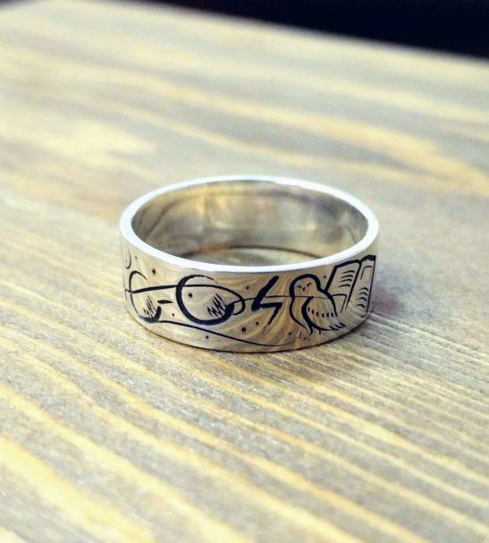 Кольцо «Гарри Поттер»
