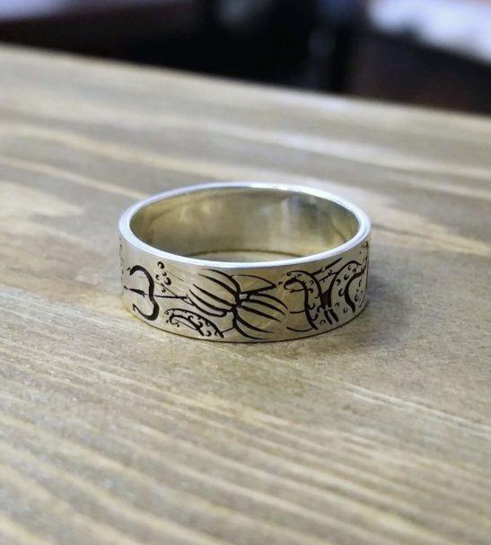 Кольцо «Русалочка»