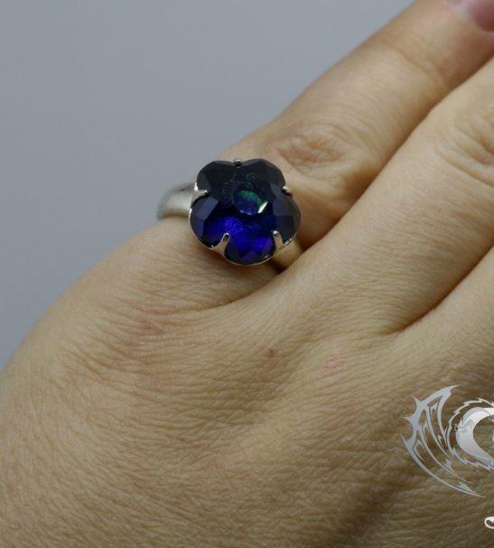 "Кольцо ""Каменный цветок"""